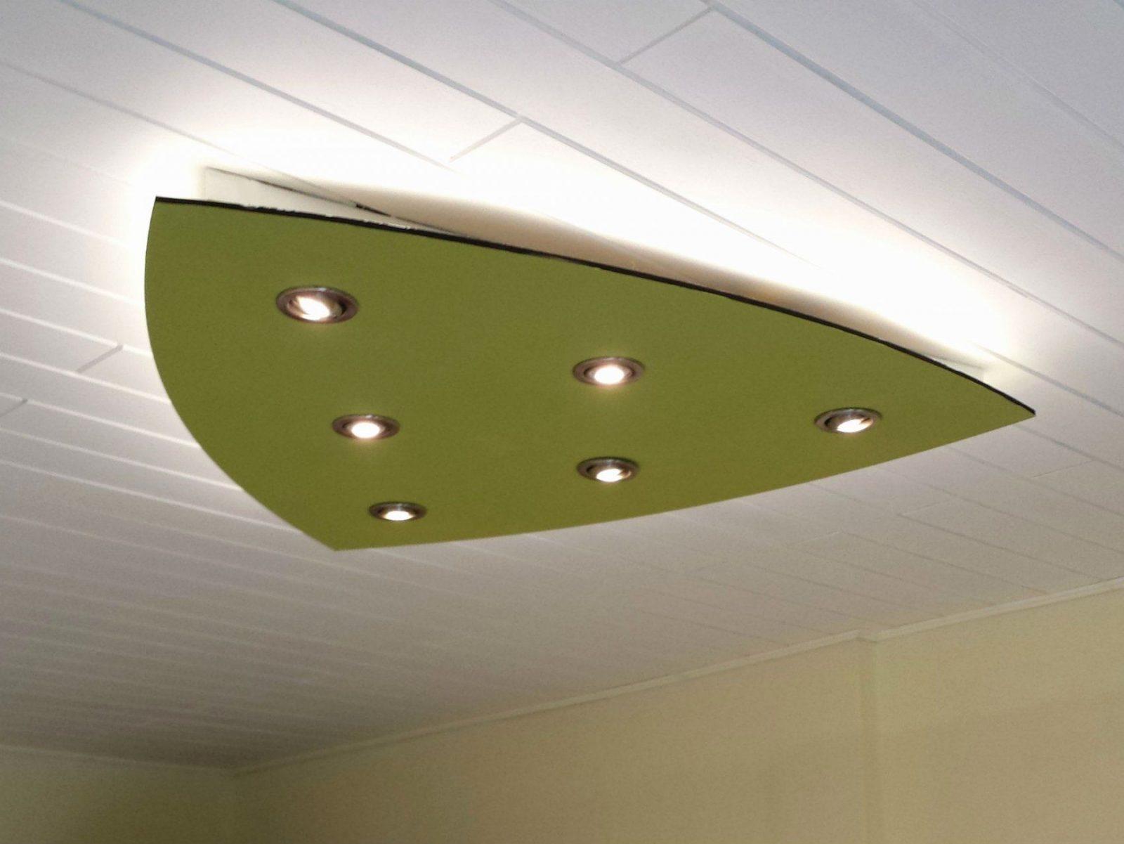 Wohnideen  Abgehangte Deckenbeleuchtung Und Schön Indirekte von Indirekte Beleuchtung Led Selber Bauen Bild
