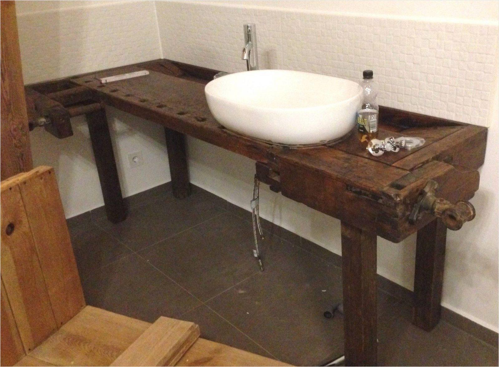 Wohnideen  Bad Unterschrank Selber Bauen Und Inspirierend von Waschbeckenunterschrank Holz Selber Bauen Bild