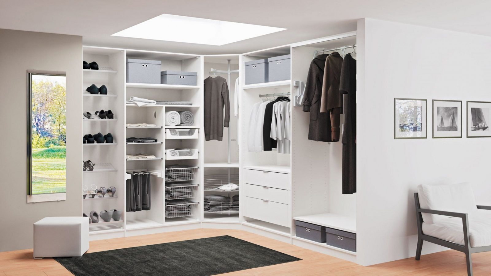 Wohnideen  Begehbaren Kleiderschrank Selber Bauen Auch Frisch von Regalsystem Kleiderschrank Selber Bauen Bild