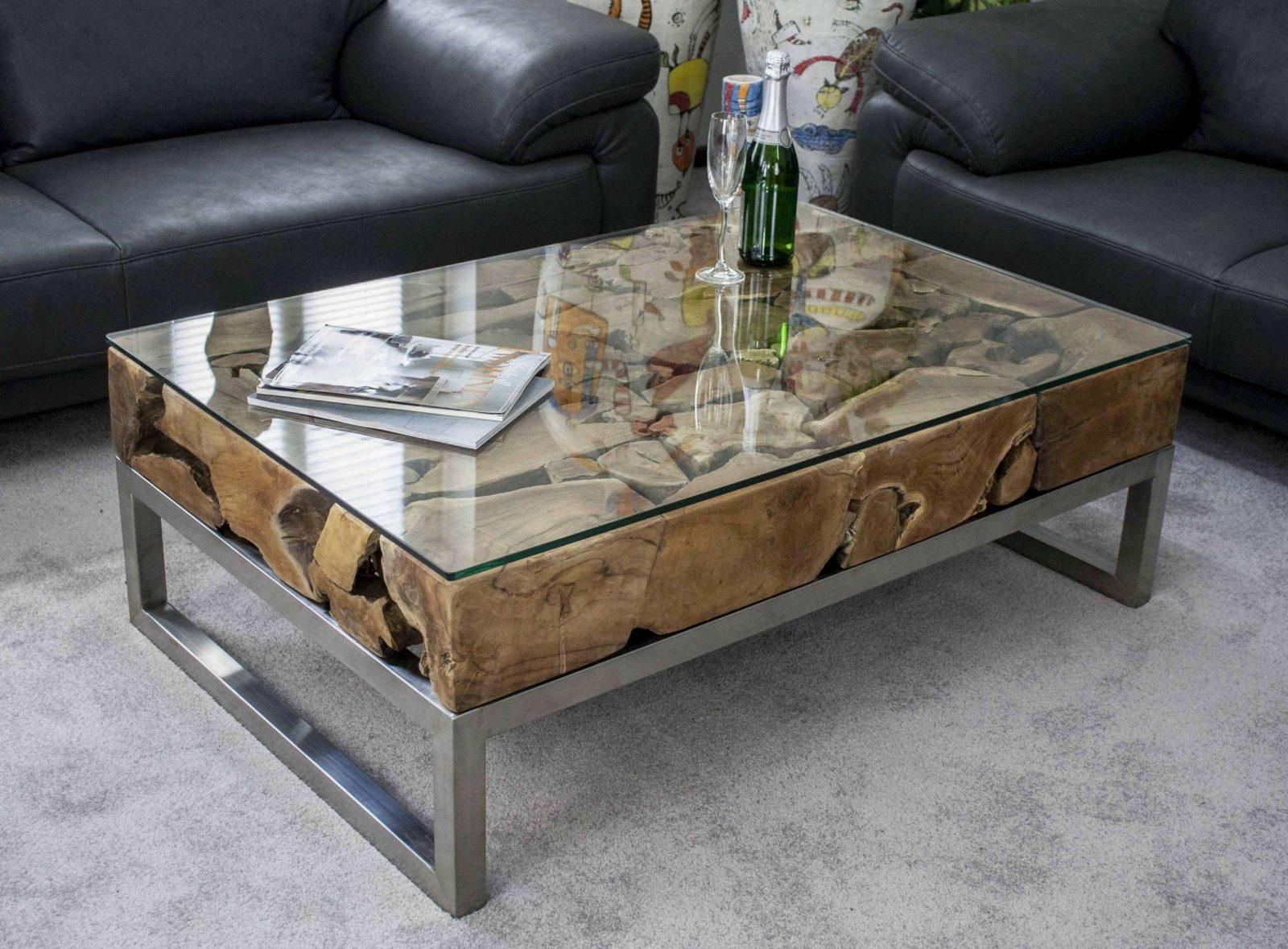 Wohnideen  Design Wohnzimmertisch Und Einzigartig Couchtisch Glas von Couchtisch Glas 70X70 Photo