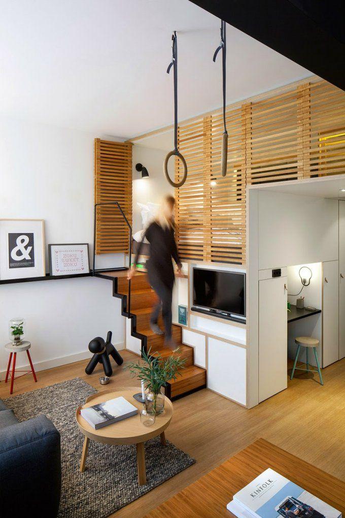 Wohnideen Für Kleine Räume  25 Wohn & Schlafzimmer von Schlafzimmer Für Kleine Räume Bild