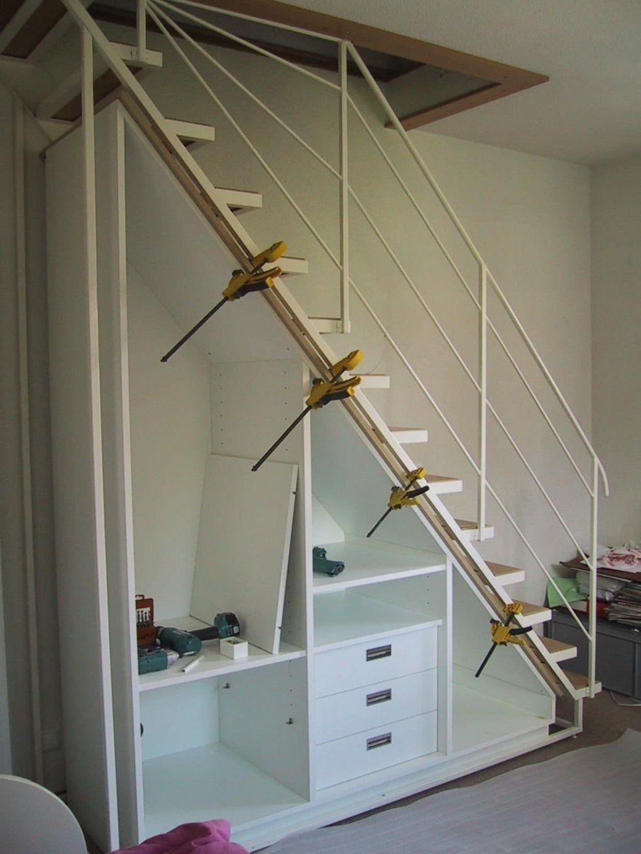 Wohnideen  Garderobe Unter Offener Treppe Auch Frisch Schuhschrank von Regal Für Unter Die Treppe Bild