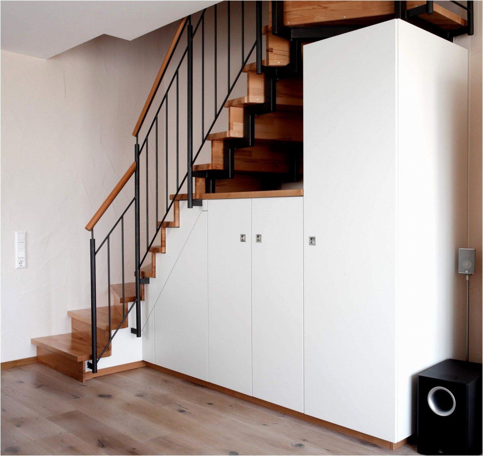 Wohnideen Garderobe Unter Offener Treppe Auch Frisch Schuhschrank ...