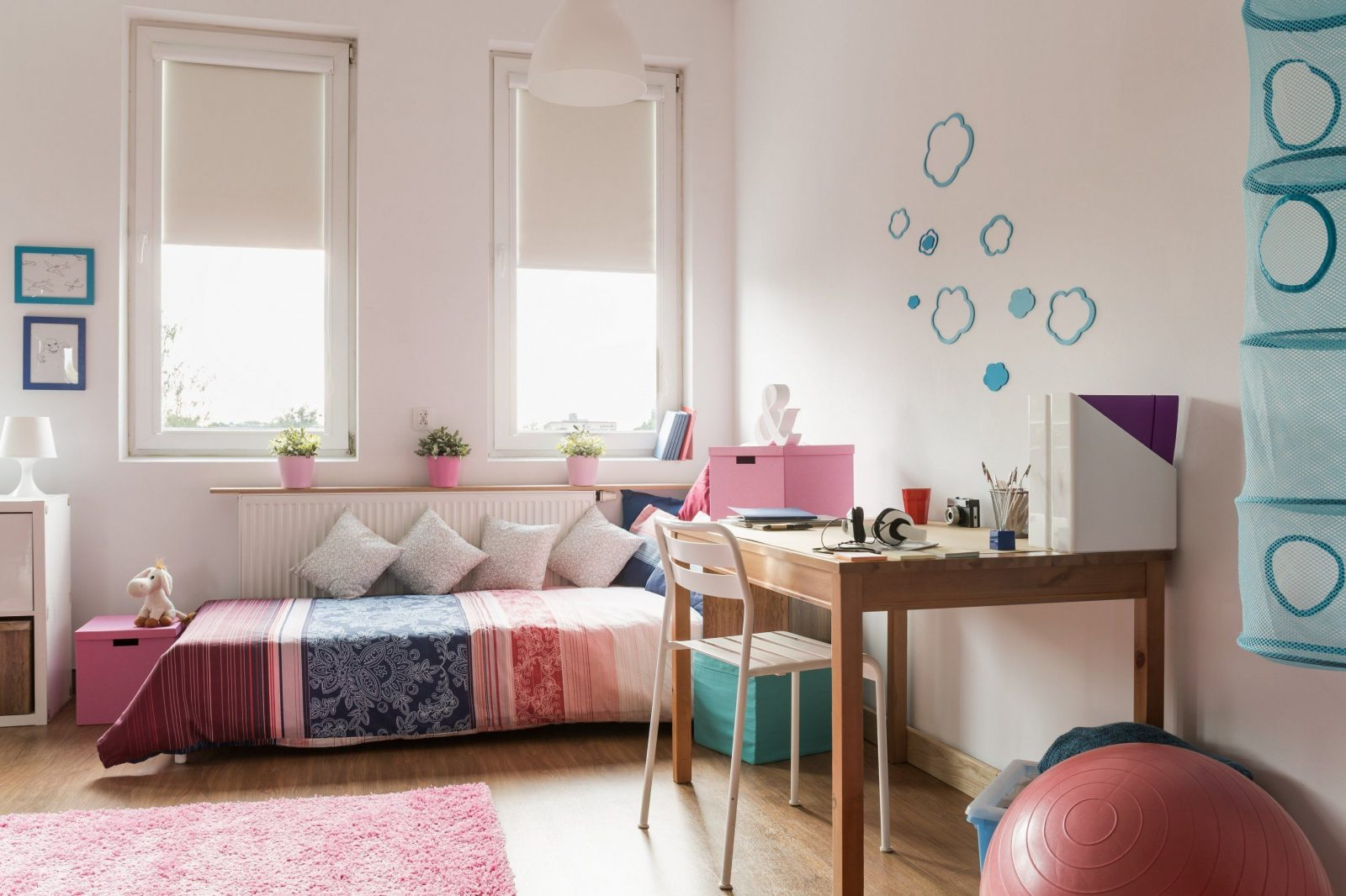 Wohnideen  Kinderzimmer Im Dach Mit Schrage Auch Schön Einzigartig von Farbgestaltung Kinderzimmer Mit Dachschräge Photo