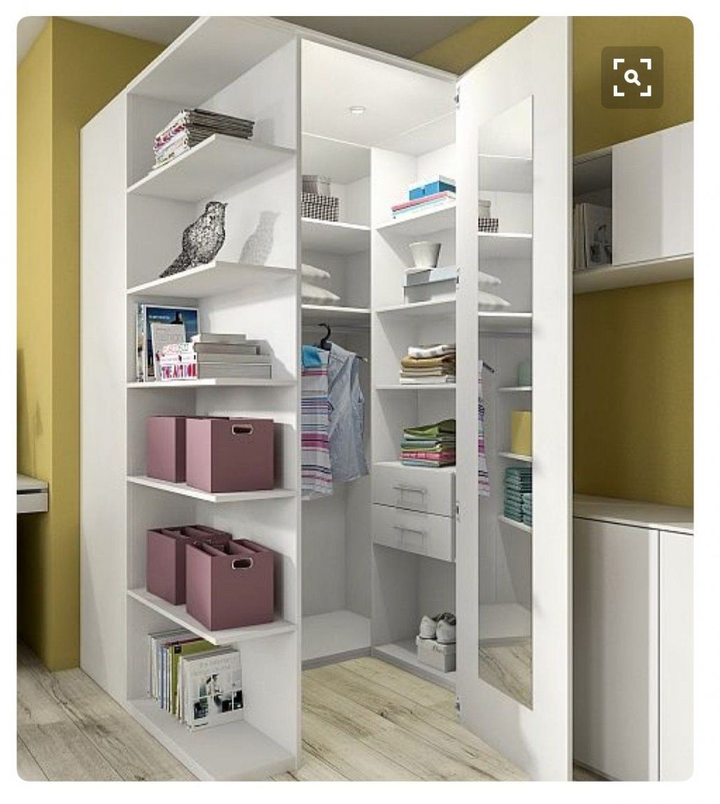 ... Wohnideen Wohnideen Pinterest Wohnideen Schlafzimmer Und Von Kleiderschrank  Ideen Kleines Zimmer Bild ...