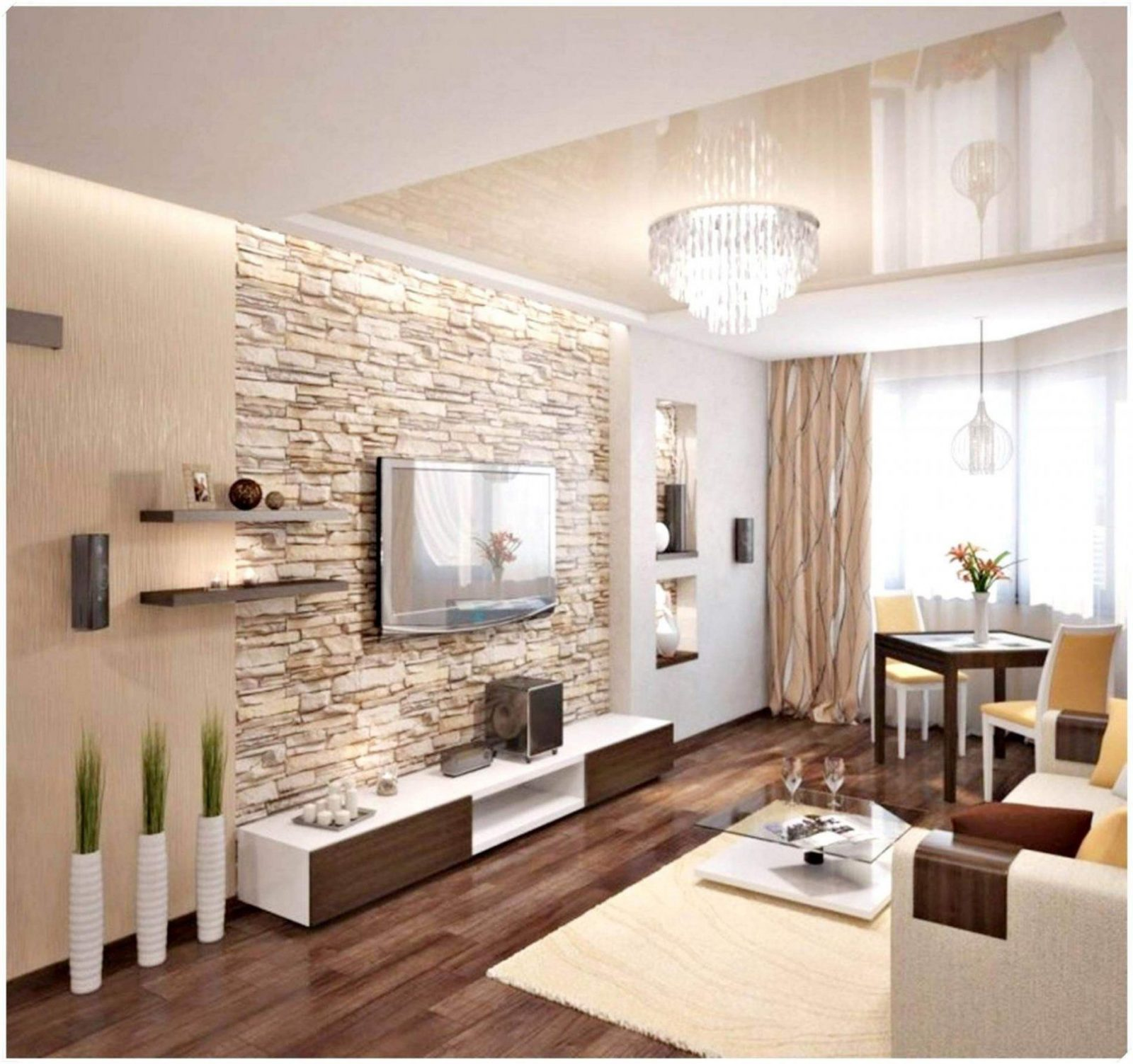 Wohnideen Ideen Streichen Zusammen Schön Wohnzimmer Streichen von ...