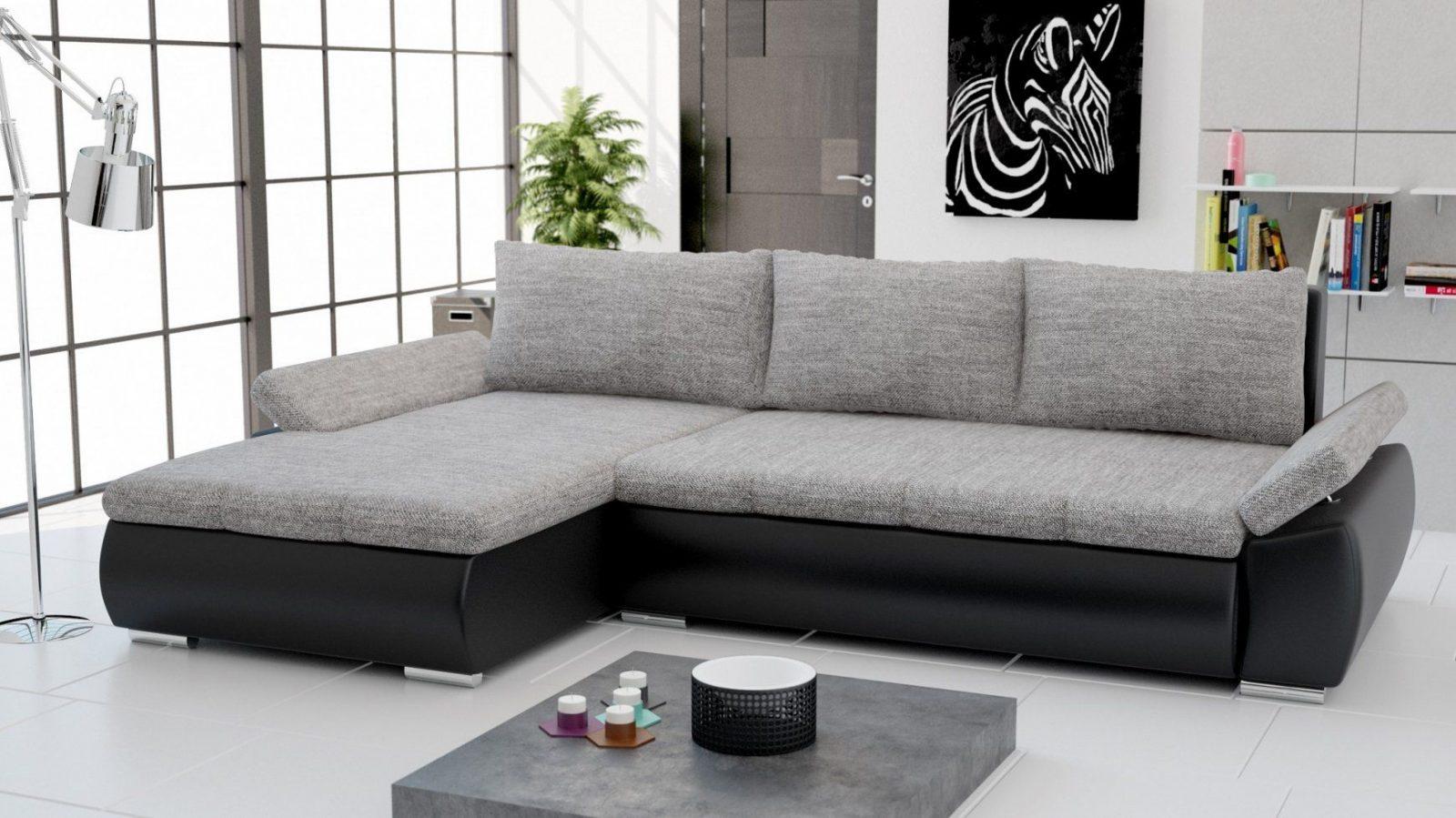 Wohnlandschaft L Form Mit Schlaffunktion von Couch L-Form Mit Schlaffunktion Bild