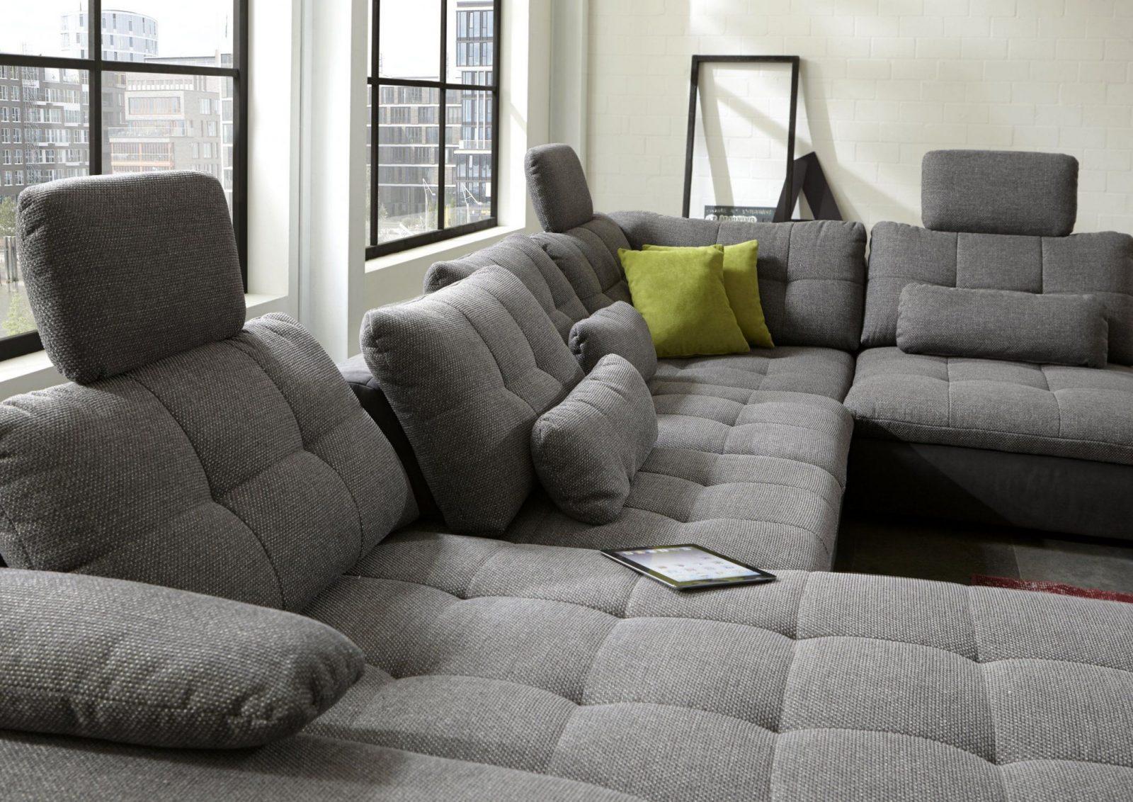 Wohnlandschaft U Wahlweise Mit Bettfunktion Und Bettkasten Von Ikea