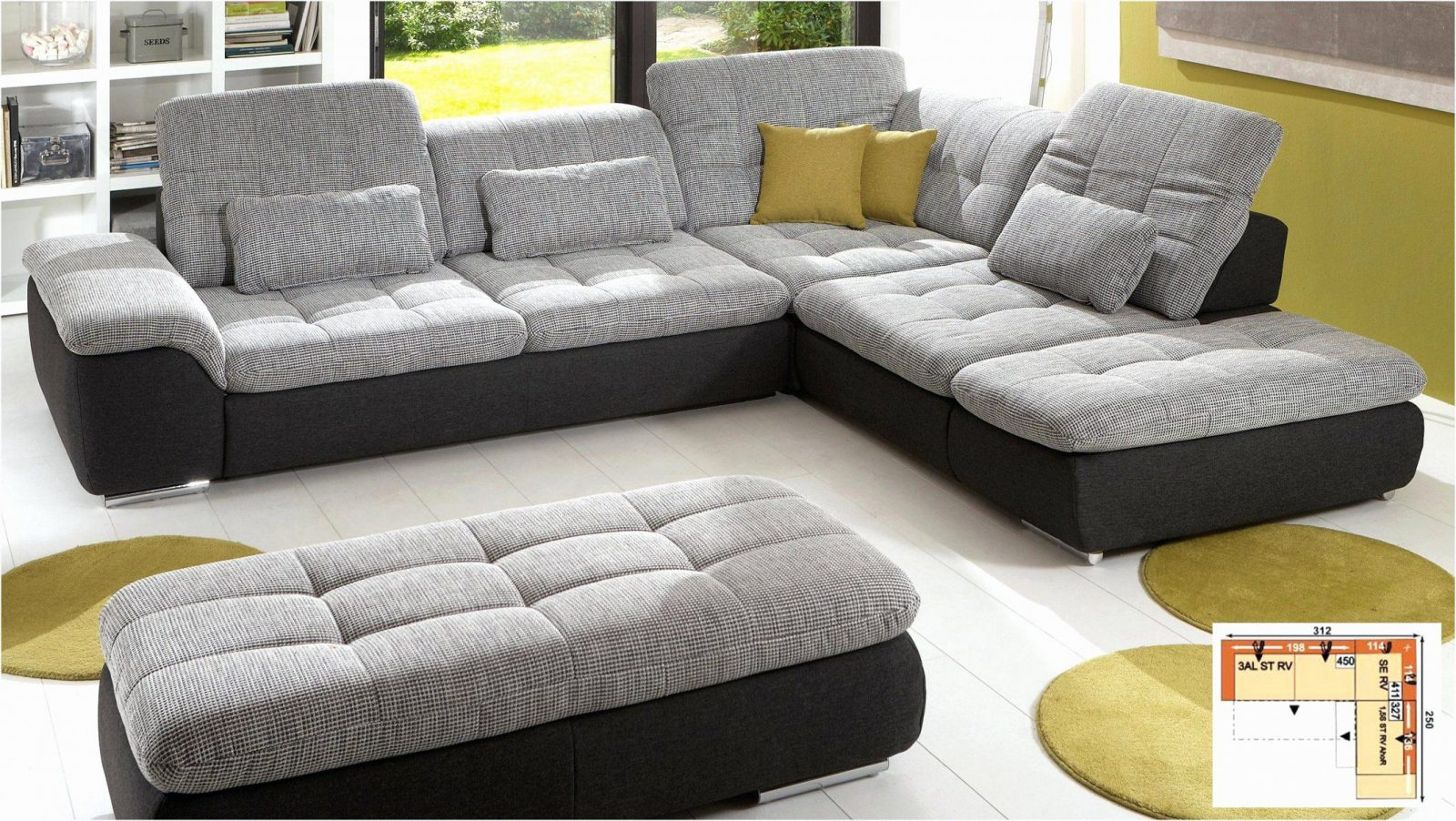 wohnlandschaft u form mit schlaffunktion frisch big sofa. Black Bedroom Furniture Sets. Home Design Ideas