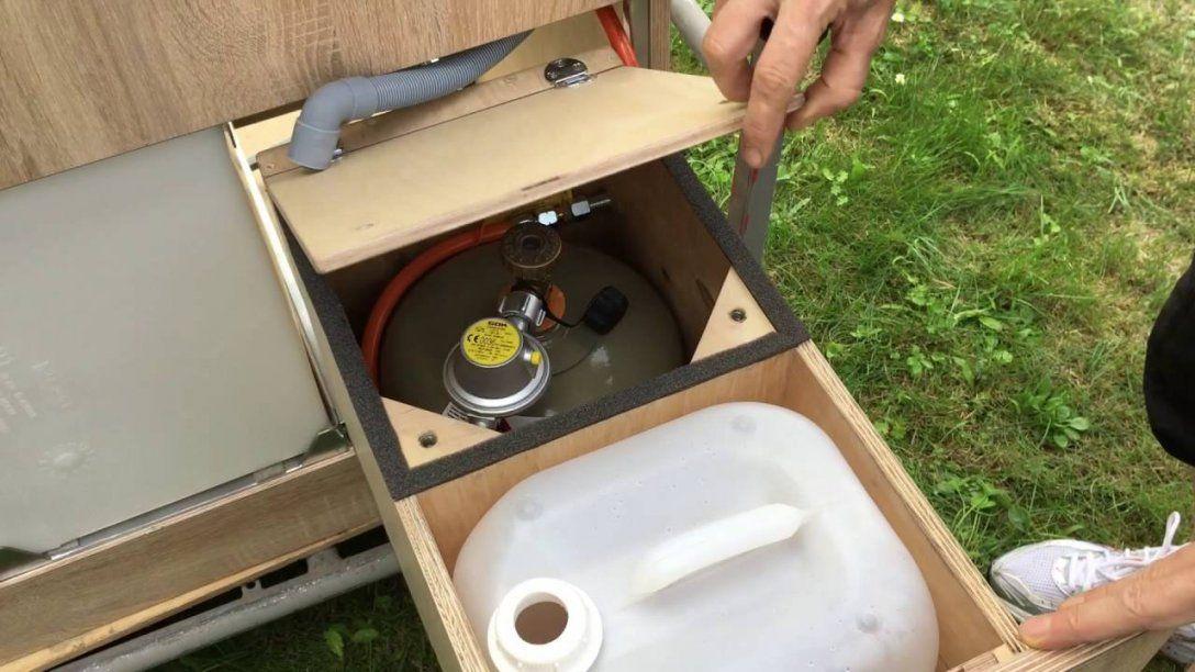 Wohnmobilküche  Youtube von Camping Möbel Selber Bauen Bild