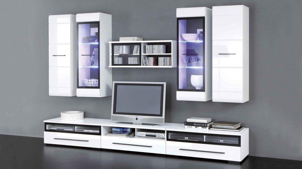 Wohnwand Inclusive Ledbeleuchtung Für Ihr Zuhause Achtteilig von Wohnwand Hochglanz Weiß Günstig Photo