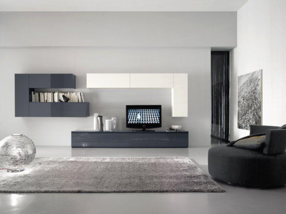 Wohnwand Modern Weiss Hochglanz Luxury Moderne Wohnwand Mobel Design von Wohnwand Modern Weiss Hochglanz Bild