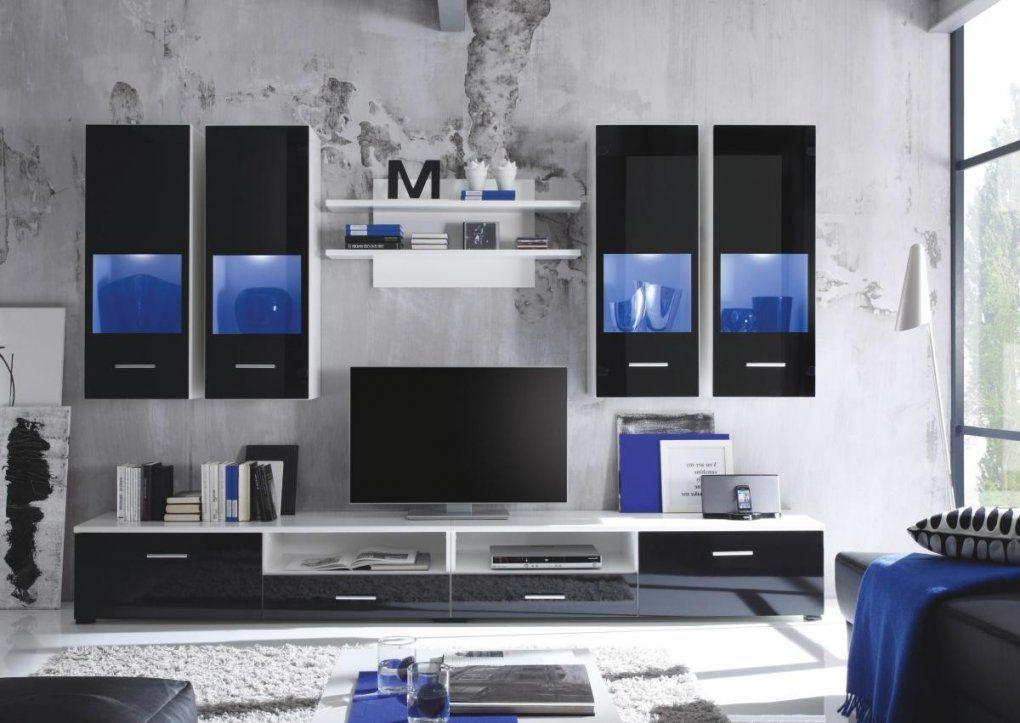 Wohnwand Nero ▷ Online Bei Poco Kaufen von Wohnwand Weiß Hochglanz Poco Bild