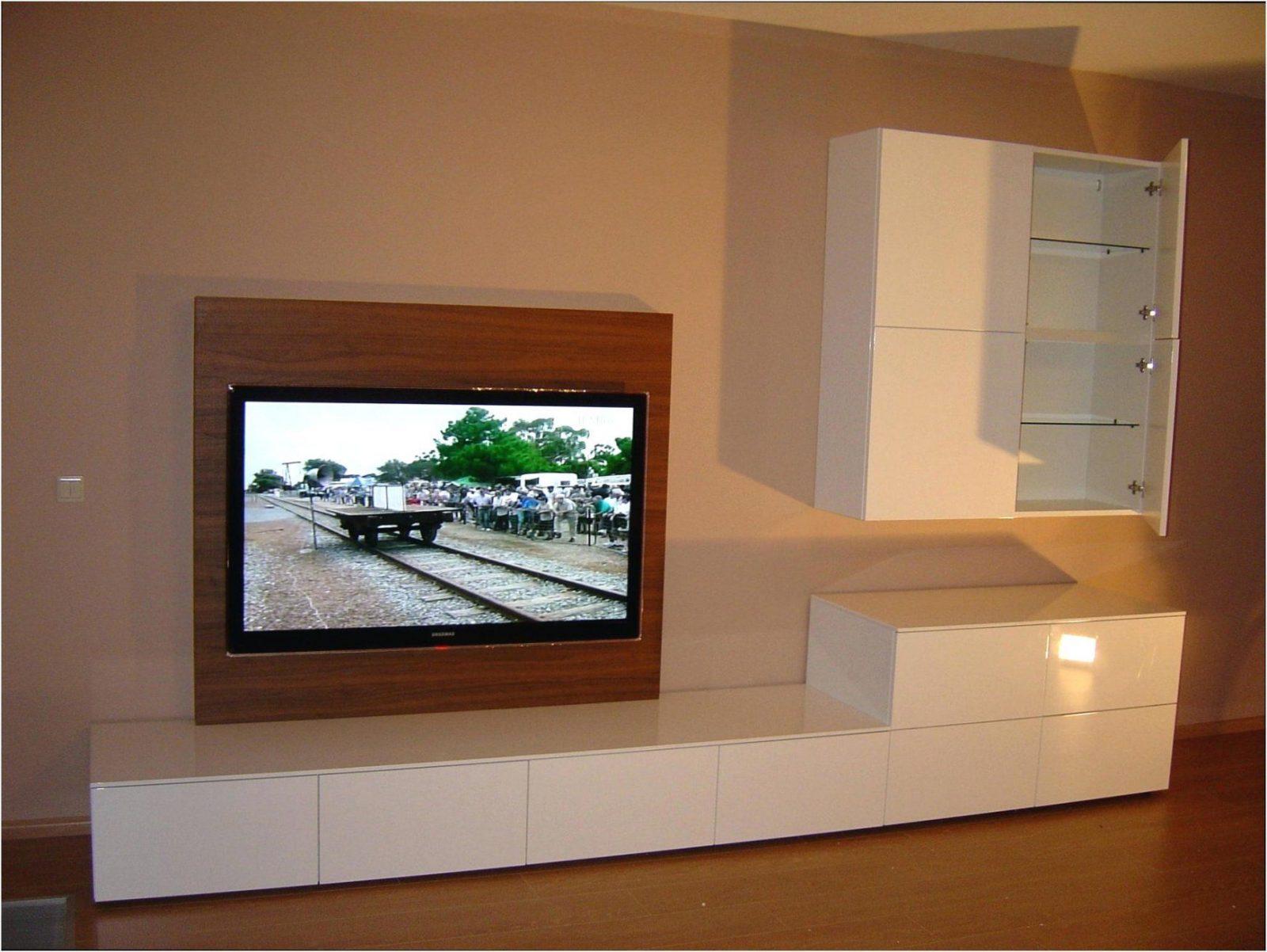Wohnwand Selber Bauen Rigips Mit Tv Wand Bauanleitung Zum Heimwerker von Tv Wand Selber Bauen Kosten Bild