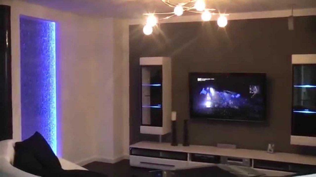 Wohnwand Tv Kühl Auf Wohnzimmer Ideen Zusammen Mit Wand Selber von Led Wand Selber Bauen Bild