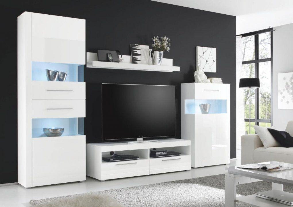 Wohnwände  Günstige Wohnwände Online Bestellen  Poco von Wohnwand Hochglanz Weiß Günstig Bild