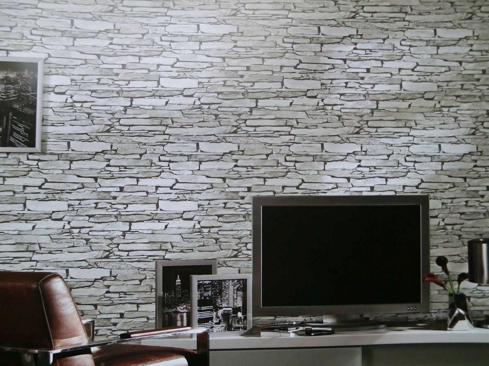 Wohnzimmer Atemberaubend Stein Tapete Wohnzimmer Design Aufregend von Stein Tapete 3D Wohnzimmer Photo