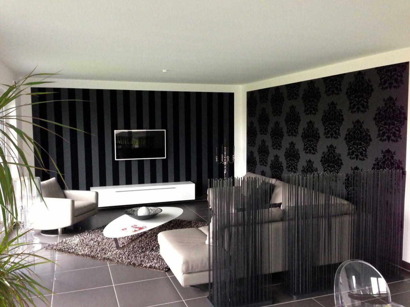Wohnzimmer Gestalten Tapeten  Haus Design von Wohnzimmer Gestalten Mit Tapeten Bild