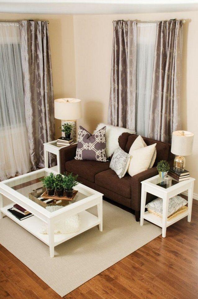 Wohnzimmer In Braun Und Beige Einrichten  55 Wohnideen von Wohnzimmer Bilder Braun Beige Bild