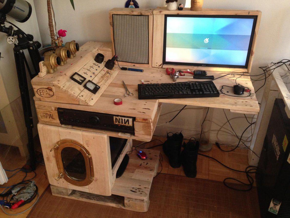 Wohnzimmer Pc Selber Bauen Ihr von Gaming Tisch Selber Bauen Bild