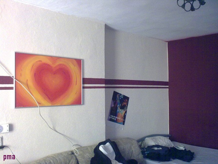 Wand streichen muster streifen haus design ideen - Streifenmuster wand ...