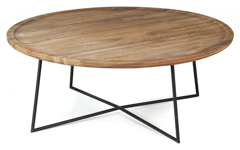 Wohnzimmertisch Rund Tasmira In Grau Schwarz Couchtisch Glastisch von Couchtisch Retro Rund Photo