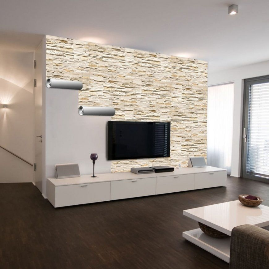 Wohnzimmerwände Interessant On Wohnzimmer Überall Wände Ideen Tapete von Tapete In Steinoptik Wohnzimmer Photo