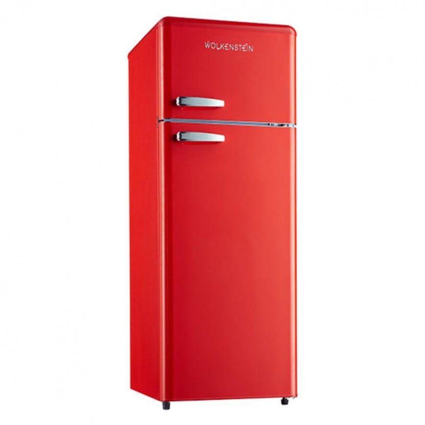 Wolkenstein Gk2124Rt Fr A++ Rot Retro Kühlschrank  Real von Real Kühlschrank Mit Gefrierfach Photo