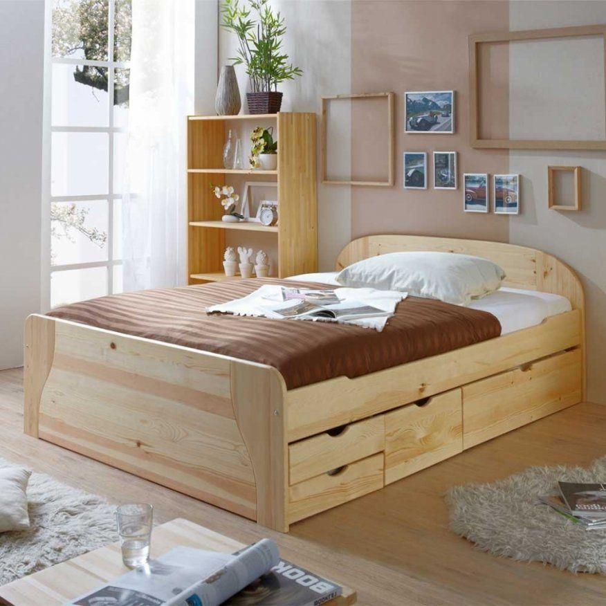 Wunderbar Bett 140×200 Kiefer Bett 140×200 Kiefer Massiv Eyesopenco von Bett 140X200 Kiefer Massiv Bild