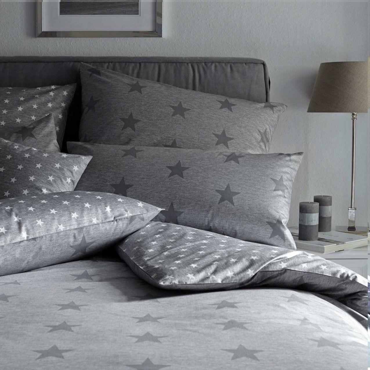 Wunderbar Bettwäsche 155X220 Mako Satin Reduziert  Bettwäsche Ideen von Bettwäsche Elegante Reduziert Photo