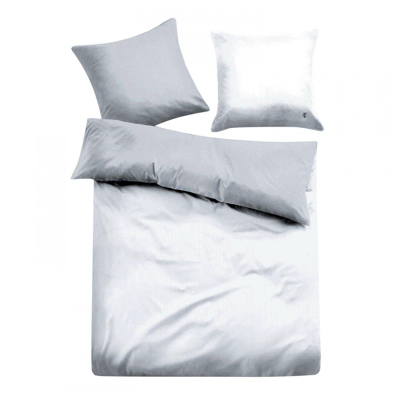 Wunderbar Bettwäsche 155X220 Weiß Satin Bettwaesche Paris Grau Weiss von Bettwäsche 155 X 220 Cm Bild