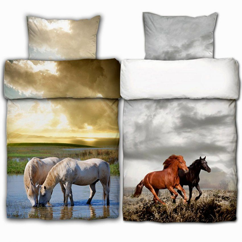Wunderbar Bettwäsche Mit Pferdemotiv 10377 Sattelclub 1 15098 von Pferde Bettwäsche Baumwolle Bild