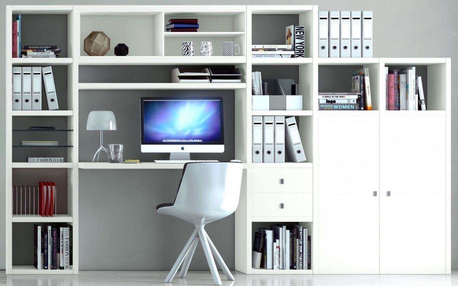 Wunderbar Büroschrank Mit Integriertem Schreibtisch Hervorragend von Schrankwand Mit Integriertem Schreibtisch Photo
