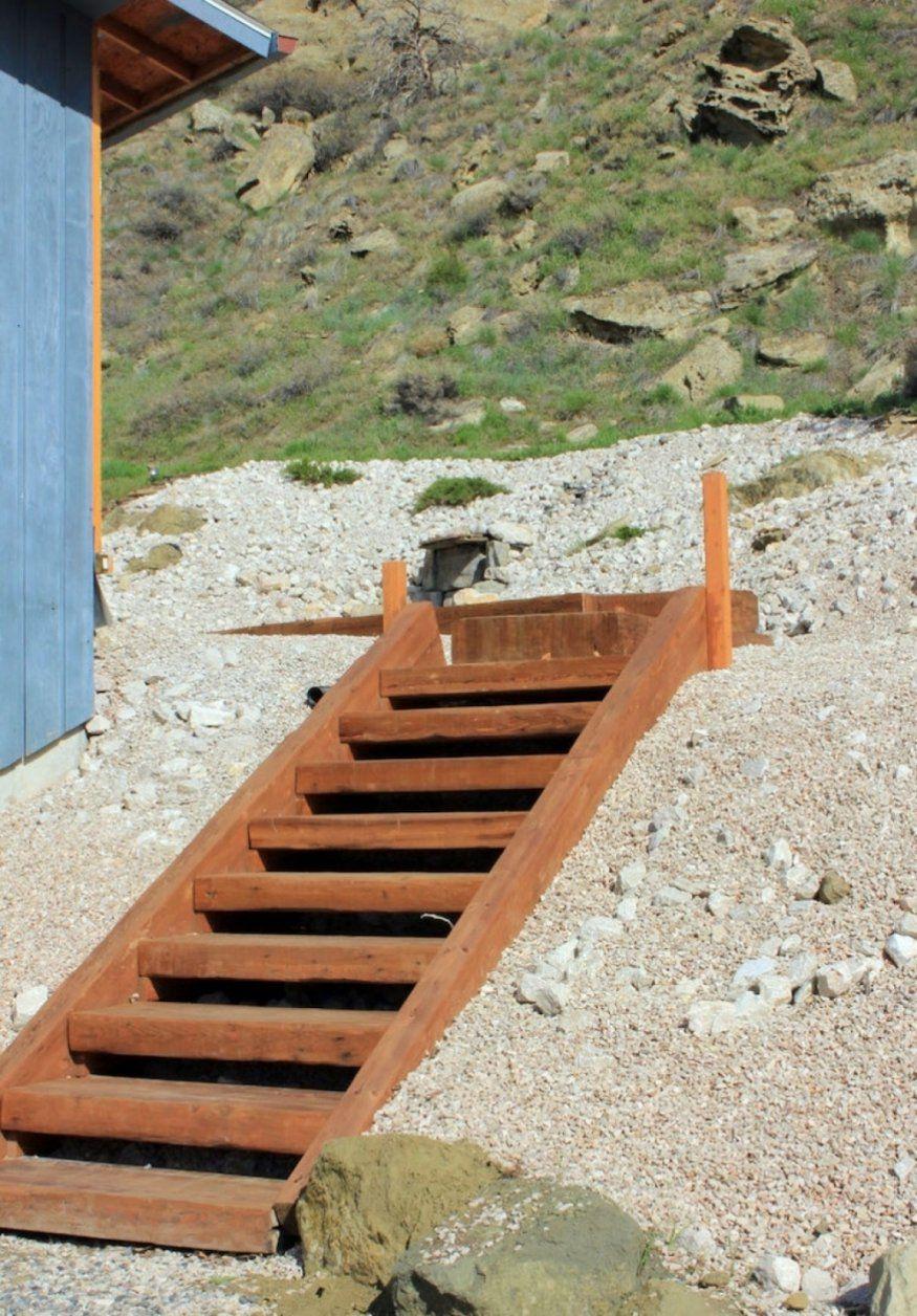 Wunderbar Gartentreppe Bauen Holz Spannende Gartentreppe Bauen Holz von Gartentreppe Selber Bauen Anleitung Bild