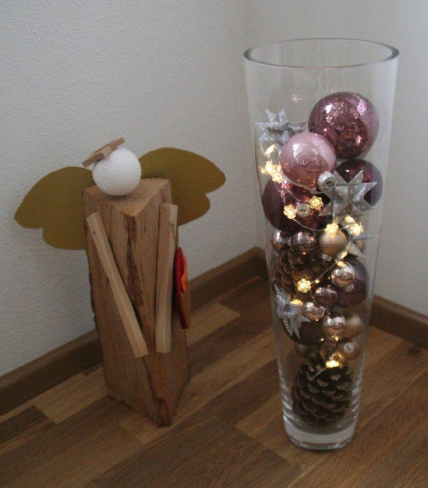 Wunderbar Große Glasvase Weihnachtlich Dekorieren Hohe Glasvase von Hohe Glasvase Dekorieren Ideen Photo