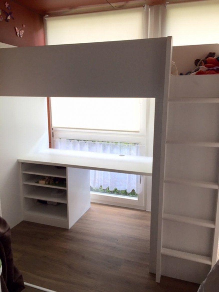 Gebraucht Ikea Hochbett Schreibtisch Tromso 90x200 In 85764 Von