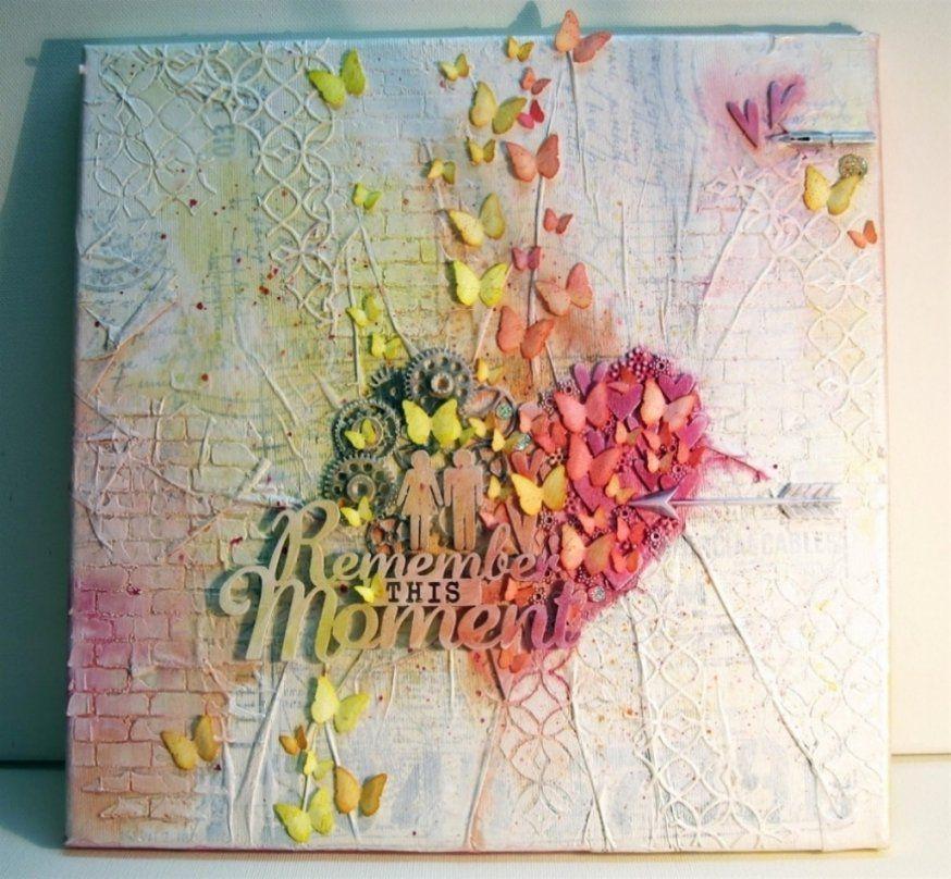 Wunderbar Leinwand Gestalten Ideen Schne Bilder Auf Leinwand Malen