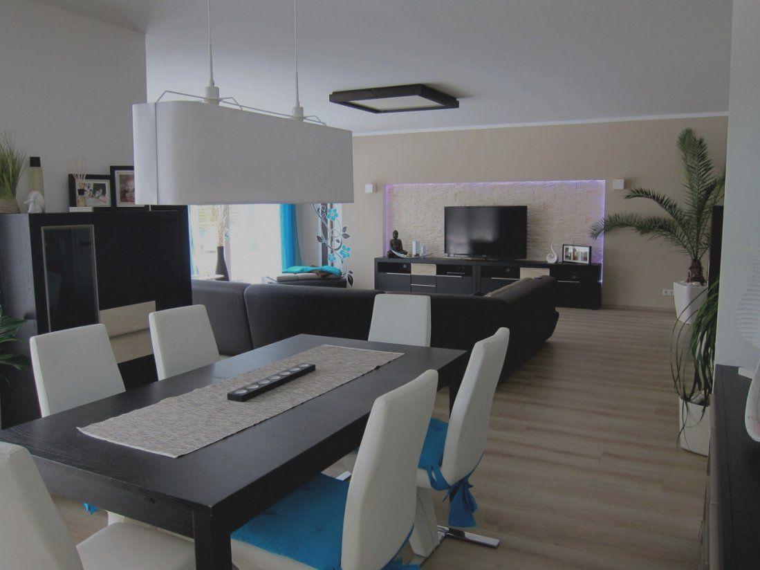 Wunderbar Modernes Wohnzimmer Mit Essbereich Gallery Of von Modernes Wohnzimmer Mit Essbereich Bild