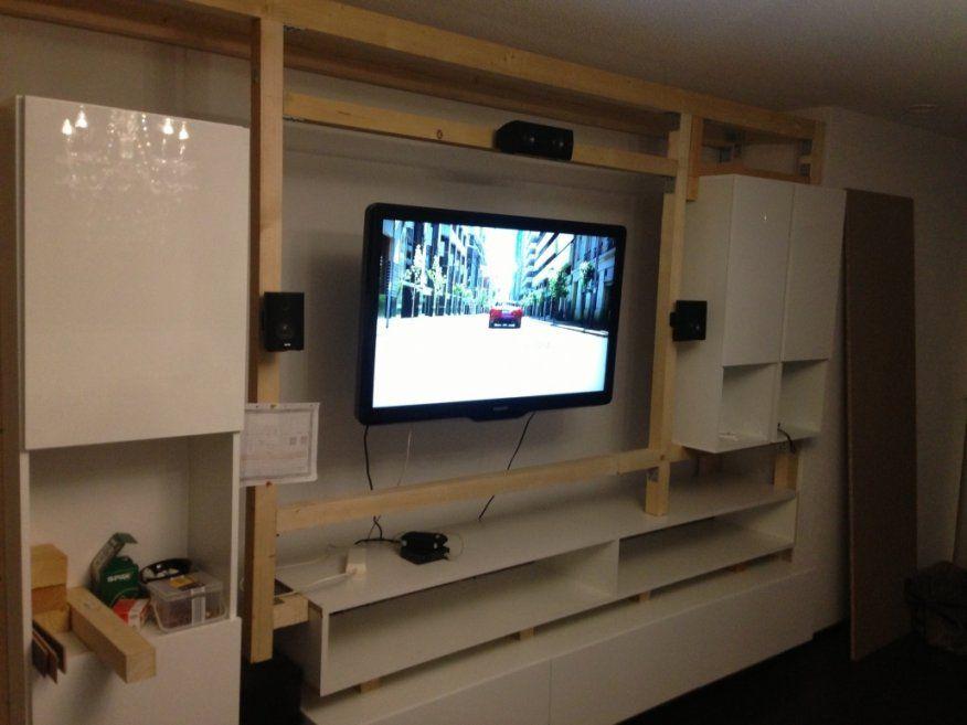 Wunderbar Tv Verkleidung Selber Bauen Mediawand Selbst Gebaut von Media Wand Selber Bauen Bild