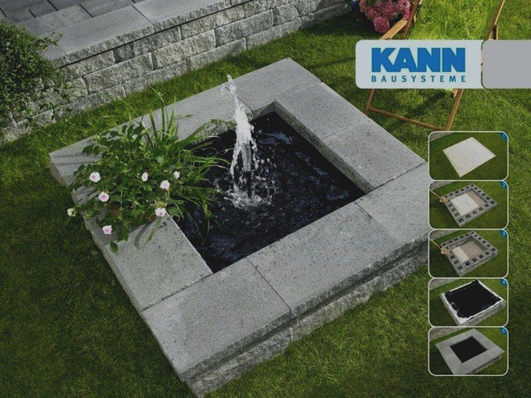 Wunderbare Brunnen Garten Selber Bauen Springbrunnen Faszinierend Fa von Brunnen Garten Selber Bauen Bild