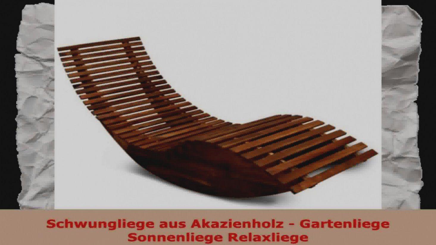 Wunderbare gartenliege selber bauen schwungliege aus akazienholz von gartenliege selber bauen - Gartenliege selber bauen aus paletten ...