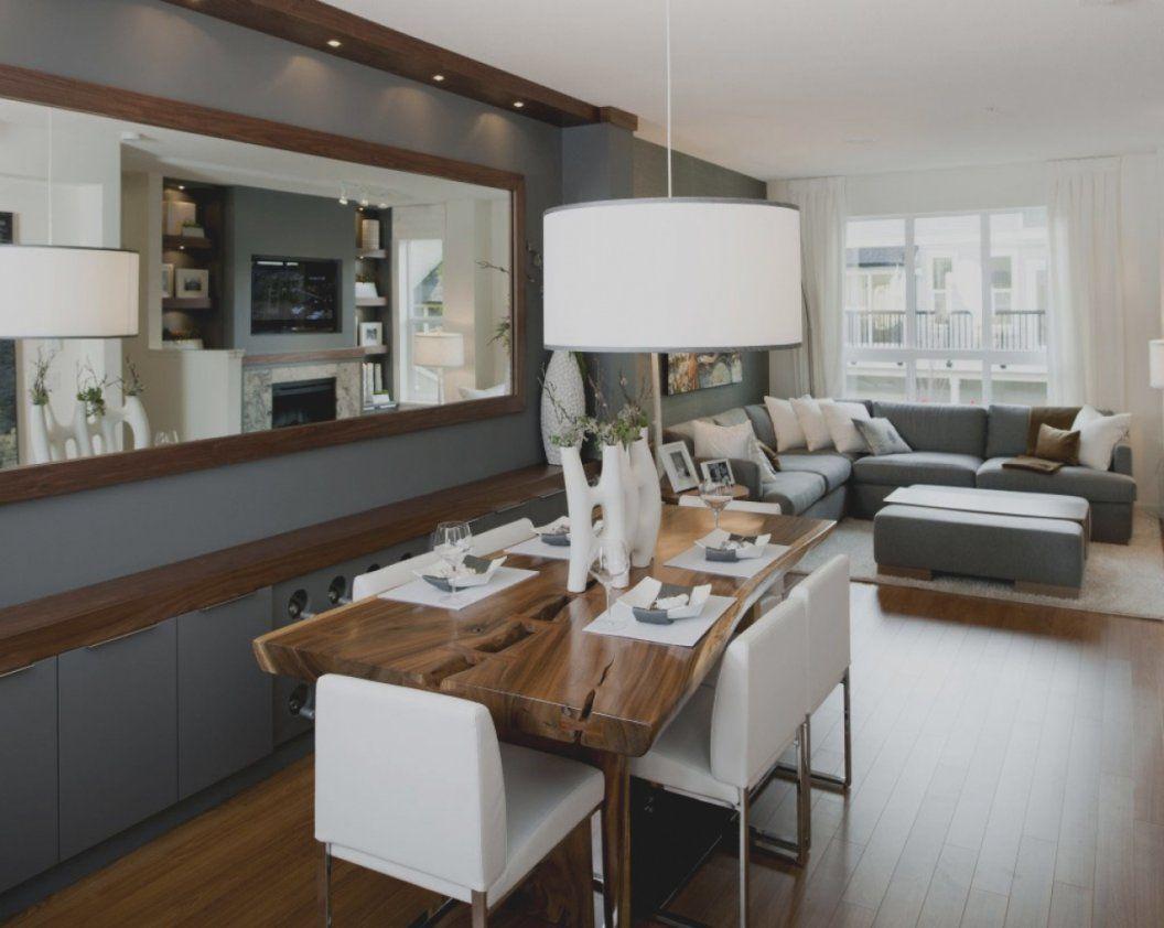 Wunderbare Gestaltungsideen Wohnzimmer Mit Esszimmer Design Modernes von Modernes Wohnzimmer Mit Essbereich Photo