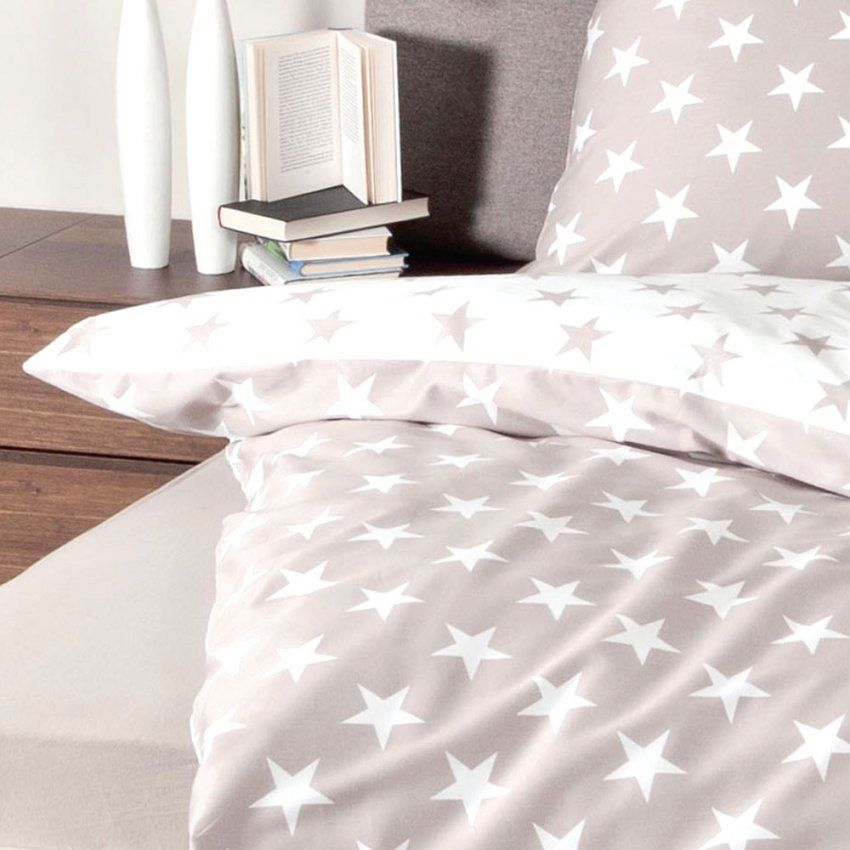 Wunderbare Inspiration Bettwäsche Sterne 155×220 Und Atemberaubende von Bettwäsche Sterne Grau 155X220 Photo