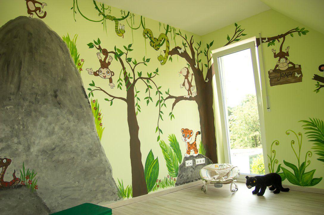 Wunderbare Inspiration Wandgestaltung Kinderzimmer Selber Machen Und von Wandgestaltung Babyzimmer Selber Machen Bild