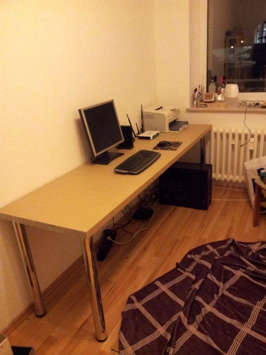Wunderschöne Arbeitsplatte Als Schreibtisch  Khles von Schreibtisch Selber Bauen Arbeitsplatte Photo