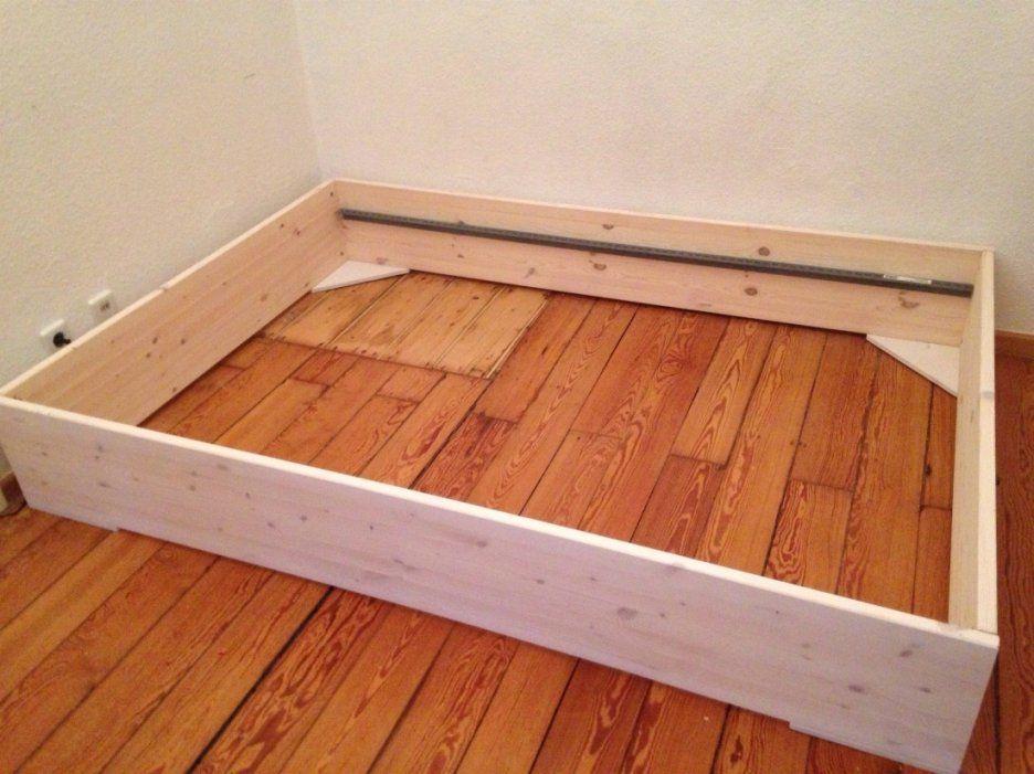Wunderschöne Bett Selber Bauen Holz Selber Bauen Holz Atemberaubend von Bett Aus Holz Bauen Bild