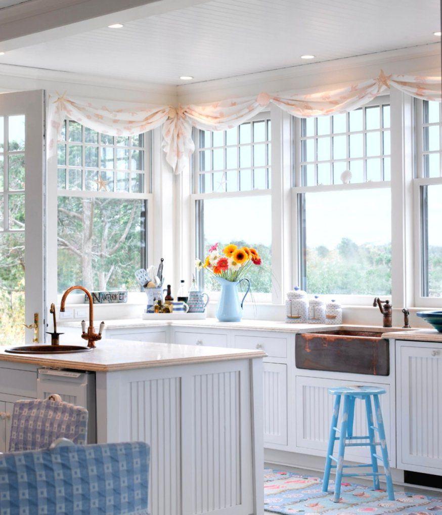 Wunderschöne Inspiration Scheibengardinen Küche Modern Und von Moderne Gardinen Für Küchenfenster Bild