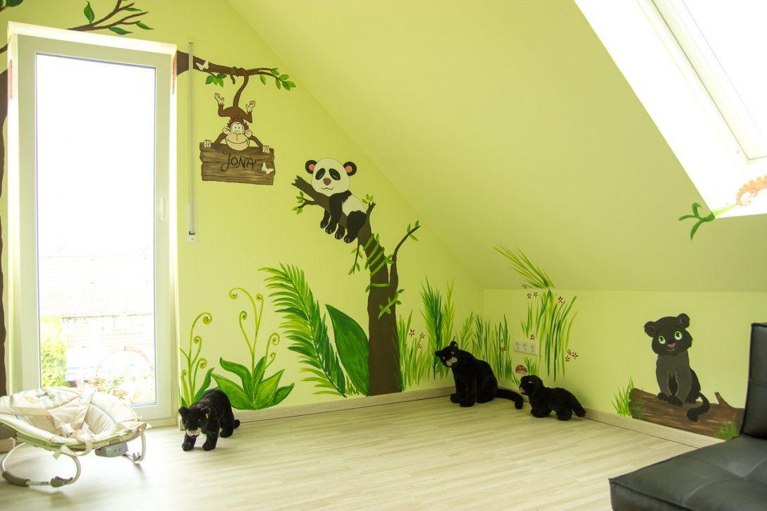 Wunderschöne Inspiration Wandgestaltung Kinderzimmer Selber Machen von Wandgestaltung Kinderzimmer Selber Machen Photo