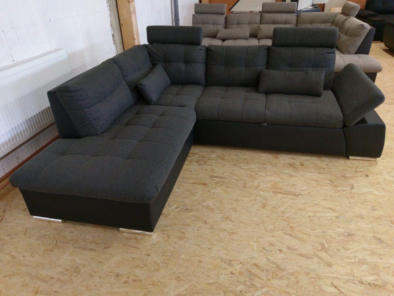 Xl Sofa Jakarta Ecksofapolstereckecouchbettfunktionkopf von Couch Mit Bettfunktion Günstig Bild