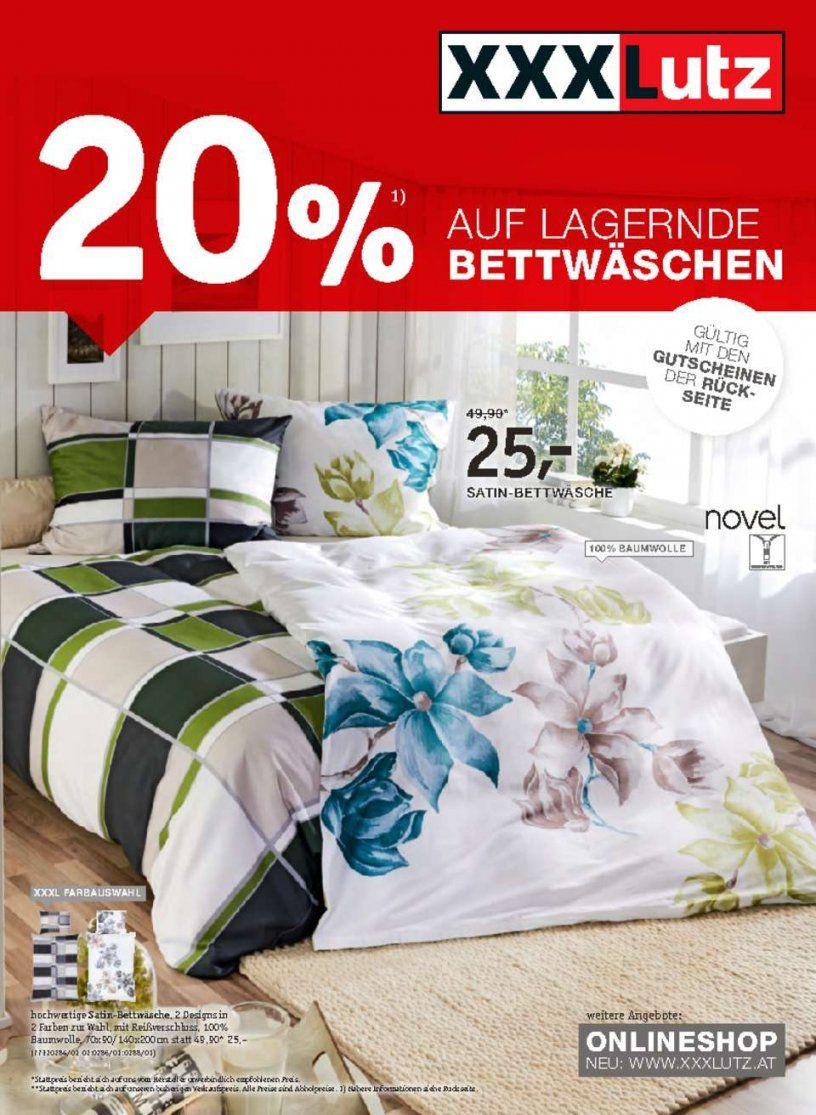 Xxx Lutz Angebote   20% Auf Lagernde Bettwäsche  Seite No 12 von Xxl Lutz Bettwäsche Bild